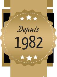 Depuis 1982